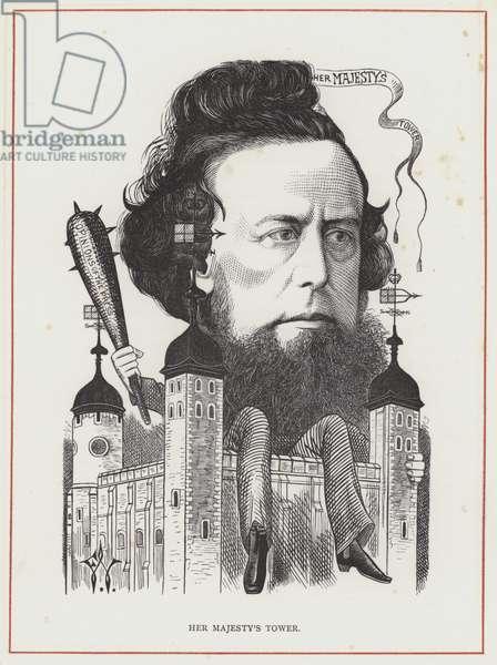 William Hepworth Dixon (engraving)
