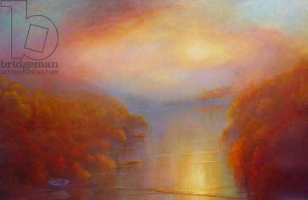 Elysian, 2019, (oil on canvas)