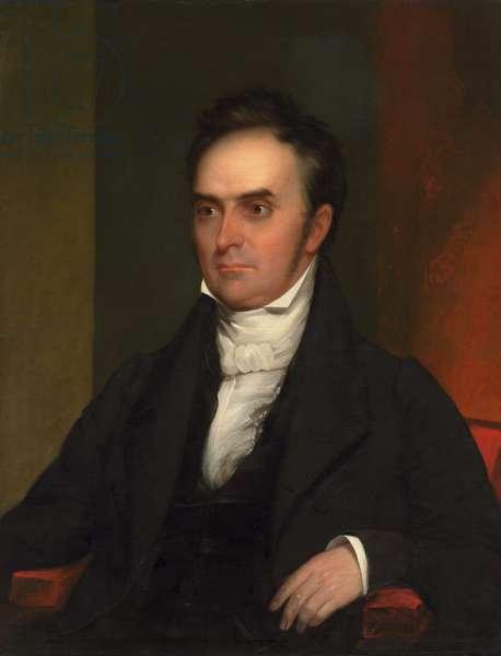 Daniel Webster (1782-1852), c.1828 (oil on canvas)