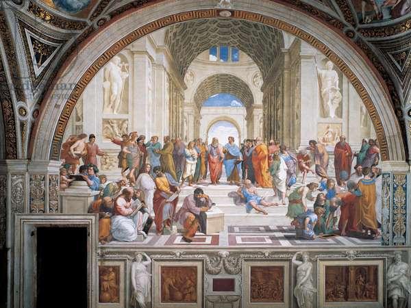 The School of Athens, 1509-11 (fresco)