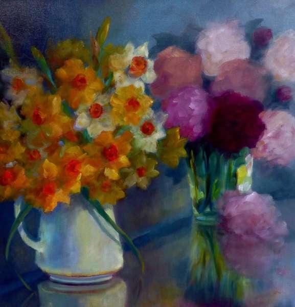Joie des Fleur, 2021, (oil on canvas)