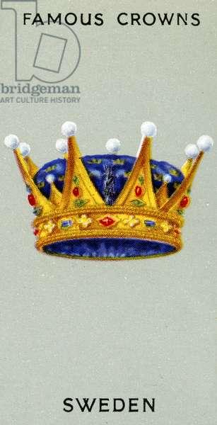 Swedish Crown, 1938 (colour litho)