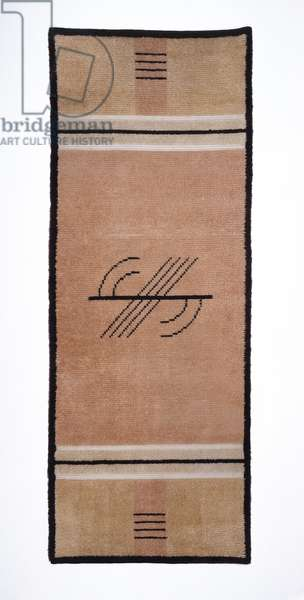 Rug, from the Koebel House, Grosse Pointe Farms, Michigan, c.1938 (wool)