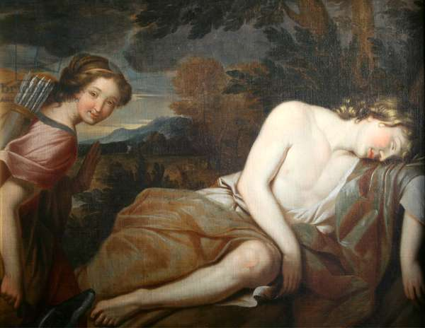 Diana and Endymion (oil on canvas)