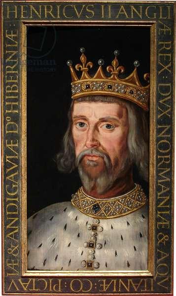 Portrait of King Henry II, c.1750 (oil on oak panel)