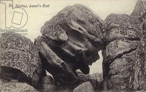 Dr Syntax, Land's End (b/w photo)