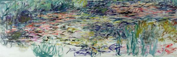 Waterlilies, 1917-19 (oil on canvas)