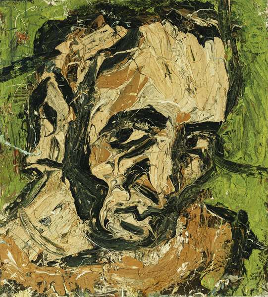 Self-Portrait, 1972 (oil on board)