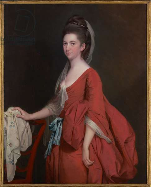 Portrait of Dorothy Beridge, nèe Gladwin (d.1792) 1777 (oil on canvas)