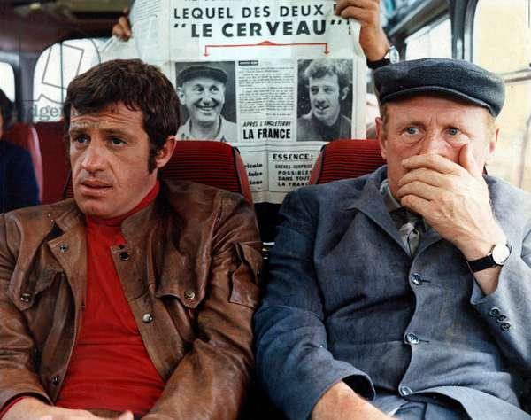 Le cerveau de Gerard Oury avec Jean Paul Belmondo, Bourvil, 1969