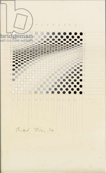 Untitled, 1964 (gouache and pencil on paper)