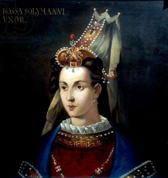 Roxelana, Suleyman's wife (oil on canvas)