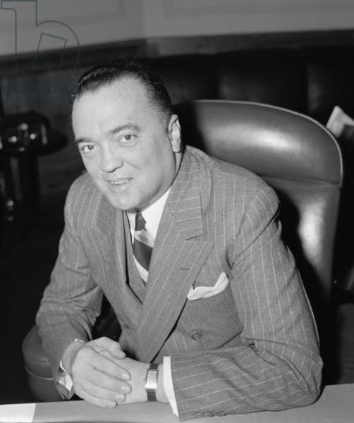 J. Edgar Hoover, Director of FBI, Department of Justice. April 5, 1940