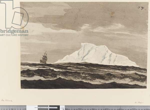 Page 27a Ice Island, 1768-75 (w/c)