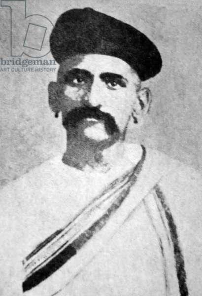 India: Damodar Hari Chapekar (1870-1897), Indian nationalist and patriot