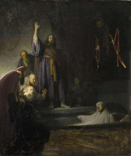 The Raising of Lazarus, c.1630-2 (oil on wood)