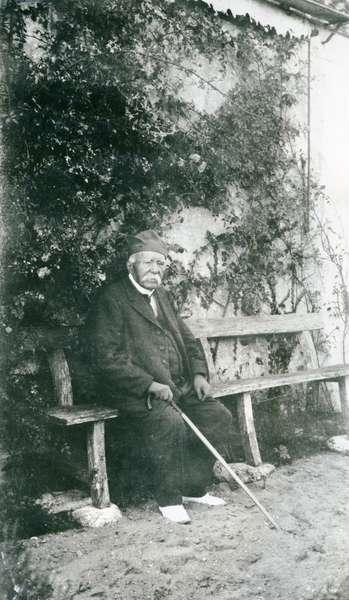 Georges Clémenceau, 1926 (b/w photo)