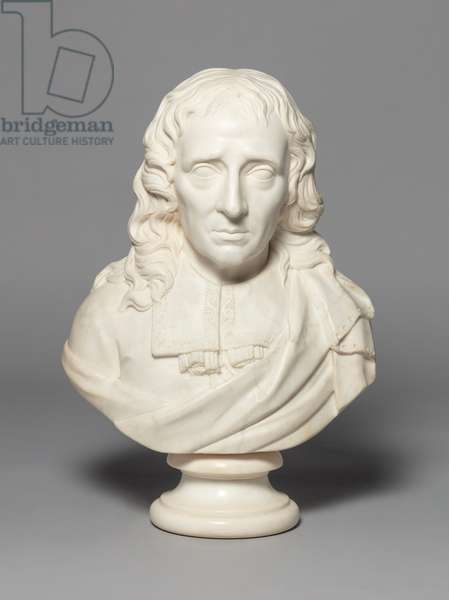 Bust of Milton, 1700-99 (marble)
