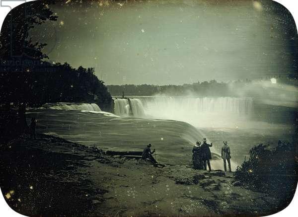 The Niagara Falls, 1853 (daguerrotype)
