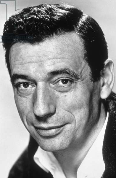 Yves Montand (1921-1991) French actor in 1957