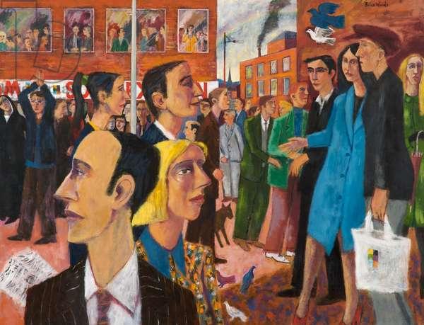 The Rainbow, 1997–-2000 (acrylic on board)