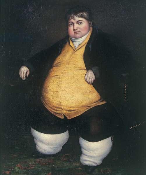 Portrait of Daniel Lambert, c.1800 (oil on canvas)