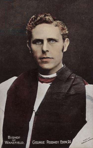 Bishop of Wakefield, George Rodney Eden, DD (photo)