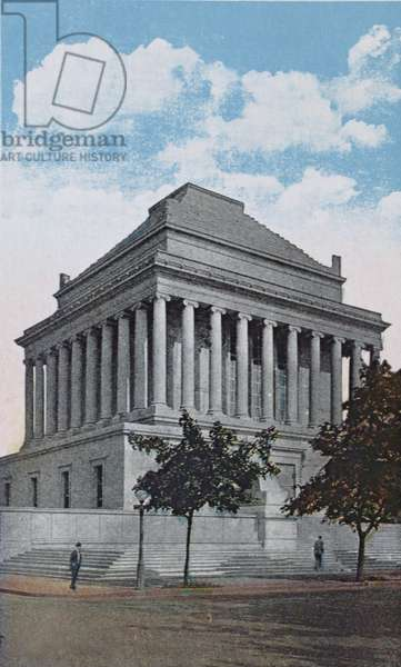House of the Temple, Washington D.C., U.S.A, c.1920 (photolitho)