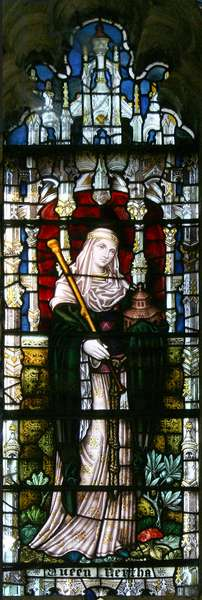 Queen Bertha, 1896 (stained glass)