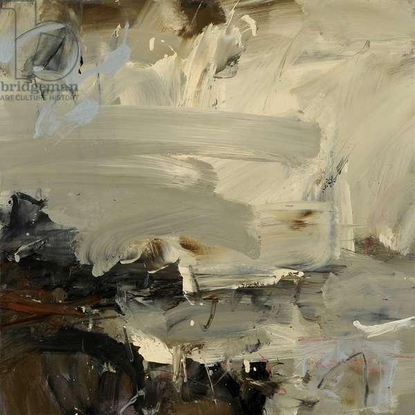Highlands Coast, Cool Sky (oil on canvas)