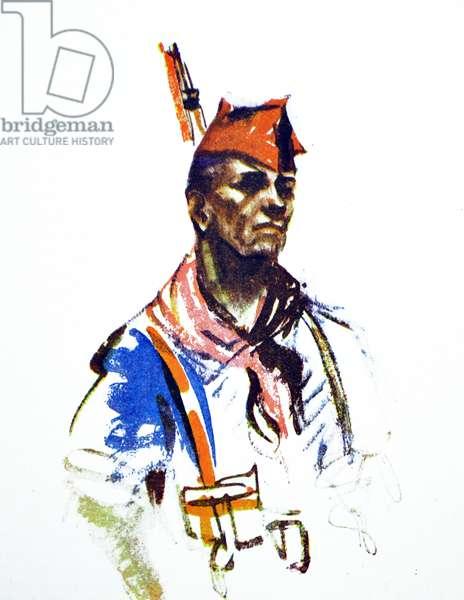 Spanish Civil War: Nationalist militia member