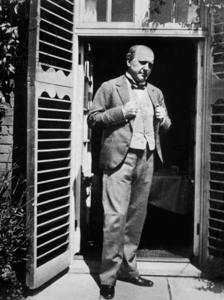 Henry James (1843-1916) american naturalized english writer, here c. 1905