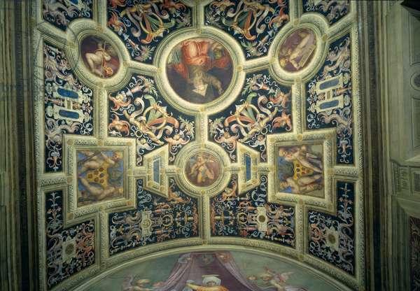 Santa Maria Novella: Decoration of the Pope's Chapel, 1515 (fresco)