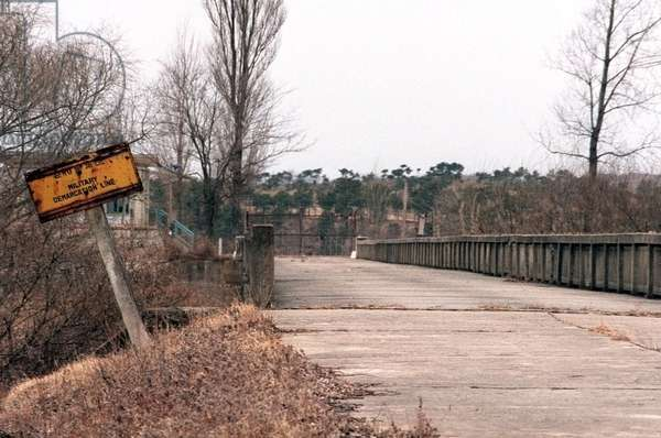 The 'Bridge of No Return' that crosses from South Korea to North Korea at the Demarcation Line between North Korea and South Korea. At the end of the Korean War if POWs crossed the bridge to North Koran they would not be allowed to return to the South