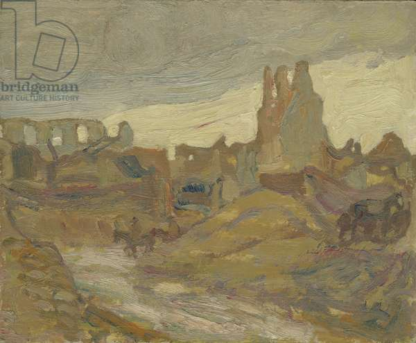Ypres, 1917 (oil on canvas)