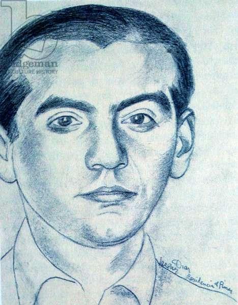 Federico García Lorca (litho)