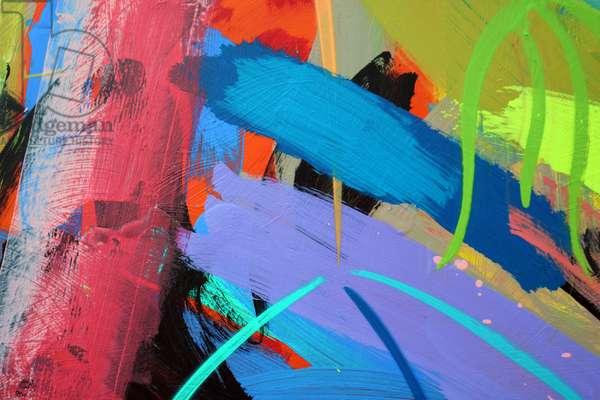 Abstract 60 (acrylic on board)