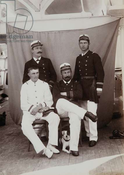 Portrait of some members of the ship's crew