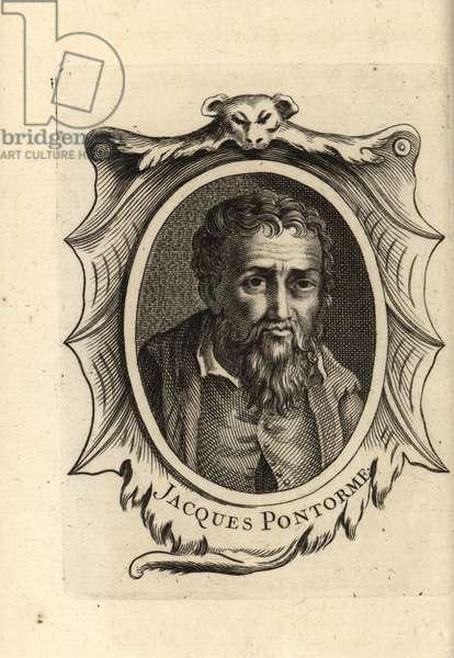Portrait of Jacopo Carucci, Italian Mannerist artist.