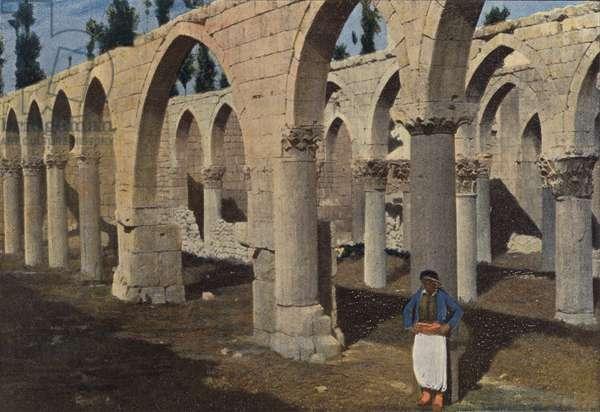 Baalbeck, Mosquee De Saladin (colour photo)