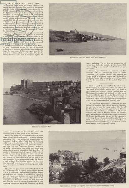 The Massacres at Trebizond, Turkey 1895 (b/w photo)
