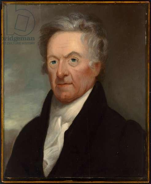 Gilbert Stuart ( 1755 -1828), c.1825 (oil on wood)