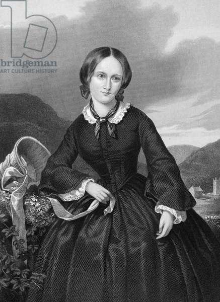 CHARLOTTE BRONTË (1816-1855). English novelist. Steel engraving, 19th century.