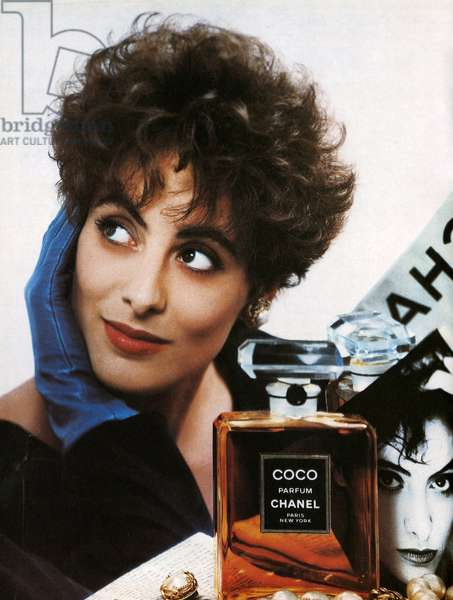 1980s USA, Chanel Magazine Advert