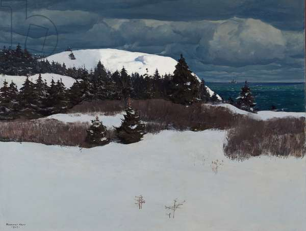 Maine Coast, 1907 (oil on canvas)