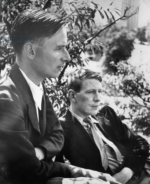 Christopher Isherwood, novelist, and W.H. Auden, poet, c.1930s
