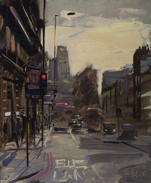 Buckingham Palace rd, contre jour, February