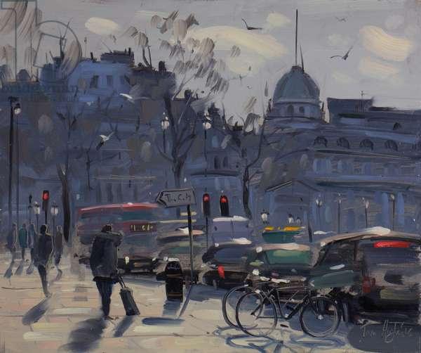 Towards Trafalgar Square from St-Martin-in-the-fields