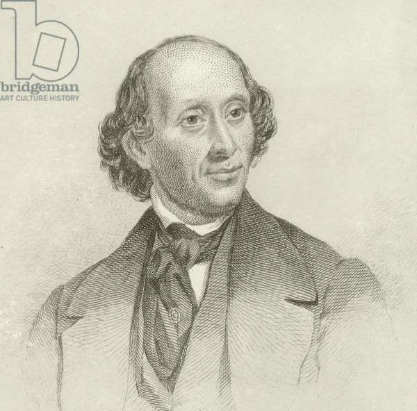 Portrait of Hans Christian Andersen (engraving)