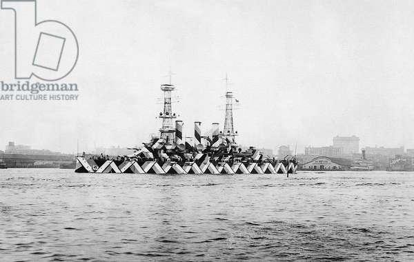 Abstract Battleship (b/w photo)